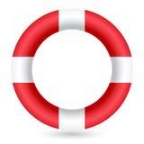 röd cirkelsafe för guard Royaltyfria Bilder