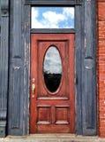 Röd dörr Royaltyfri Bild