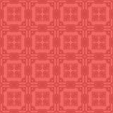 Röd dekorativ sömlös linje modell Royaltyfria Foton