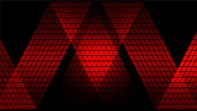 Röd digital abstrakt teknologibakgrund Royaltyfria Foton