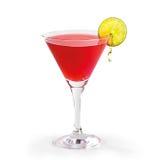 Röd drink royaltyfria foton