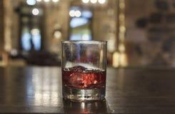 Röd drink Fotografering för Bildbyråer