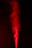 Röd dunst Fotografering för Bildbyråer