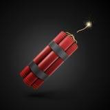 Röd dynamit Arkivfoton