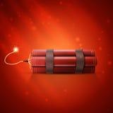 Röd dynamit Arkivbilder