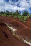 röd flod Royaltyfria Bilder