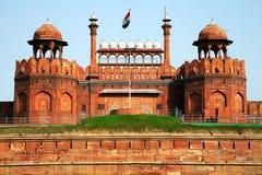 Röd Fort av New Delhi Arkivbild