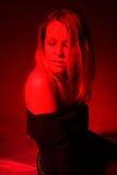 röd frestelse Fotografering för Bildbyråer