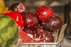 Röd frukt Arkivfoto