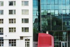 Röd fyrkant av Wien arkivfoton