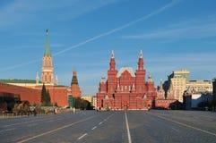 Röd fyrkant i Moskva arkivbild