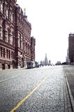 Röd fyrkant i Moskva Royaltyfri Fotografi