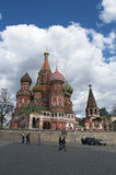 Röd fyrkant, Moskva, rysk federal stad, rysk federation, Ryssland Royaltyfri Bild