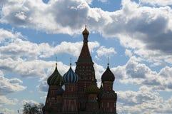 Röd fyrkant, Moskva, rysk federal stad, rysk federation, Ryssland Fotografering för Bildbyråer