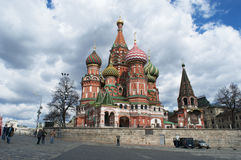 Röd fyrkant, Moskva, rysk federal stad, rysk federation, Ryssland Royaltyfria Foton