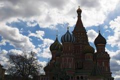 Röd fyrkant, Moskva, rysk federal stad, rysk federation, Ryssland Arkivbilder