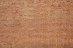 Röd gammal tegelstenvägg textur Arkivbilder