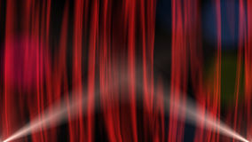 Röd gardin vektor illustrationer