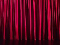 Röd gardin i en teater Se mer i min portfölj Fotografering för Bildbyråer