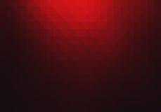 Röd geometrisk abstrakt bakgrund Royaltyfri Fotografi