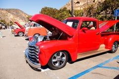 Röd GM 1951 1500 Royaltyfri Fotografi