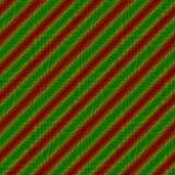 Röd grön sned randig bakgrund Fotografering för Bildbyråer