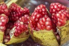 Röd granatäpple Arkivfoto