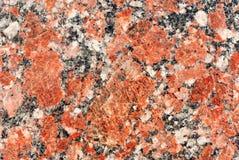 Röd granitbakgrund Royaltyfri Fotografi