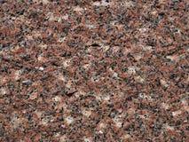 Röd granityttersidatextur Fotografering för Bildbyråer