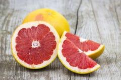 röd grapefrukt Arkivbild