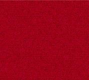 Röd grov bomullstvilltextur Royaltyfria Bilder