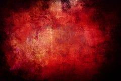 Röd Grungebakgrund Arkivbild