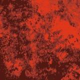 Röd grungetextur Royaltyfri Bild