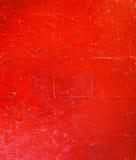 Röd Grungetextur av den korniga väggen abstrakt bakgrundsred Royaltyfri Foto