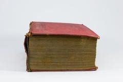 Röd grungy bok Royaltyfri Fotografi