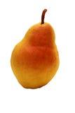 Röd gul päronfrukt Arkivfoton