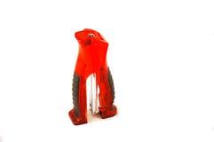 röd häftapparat royaltyfri bild