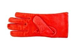 Röd handske Royaltyfria Foton