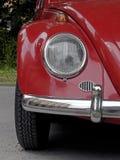 Röd historisk bil Royaltyfri Foto