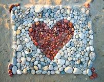 Röd hjärta Arkivbilder