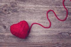 Röd hjärta royaltyfri bild