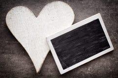 Röd hjärta Arkivbild