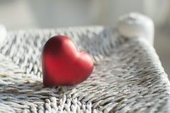 Röd hjärta Royaltyfria Bilder