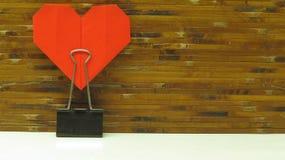 Röd hjärta fotografering för bildbyråer