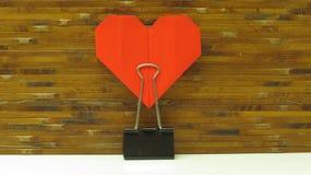 Röd hjärta arkivfoton