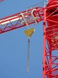 Röd industriell T-antenn Royaltyfri Fotografi