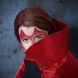 Röd jäkel Fotografering för Bildbyråer
