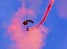 Röd jäkel Arkivfoto