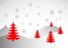 röd jul Arkivfoton