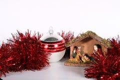 röd jul Fotografering för Bildbyråer
